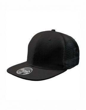 Μαύρο Καπέλο τζόκεϋ με φλατ γείσο