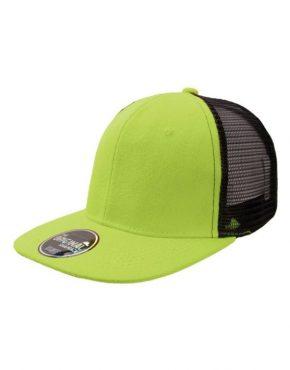 Apple green Καπέλο τζόκεϋ με φλατ γείσο