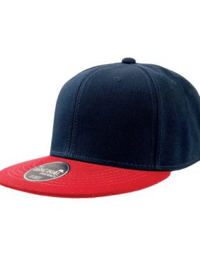 Navy Red εξάφυλλο καπέλο 8nr45
