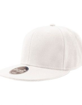 Flat jockey White cap