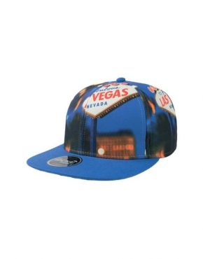 Vegas Flat jockey hat with visor
