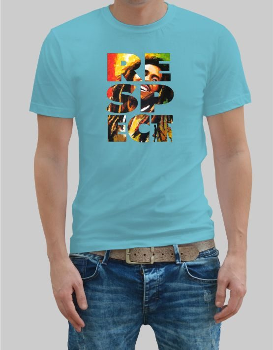 Respect Bob Marley T-shirt