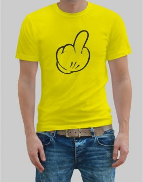 Mickey Mouse Finger t-shirt