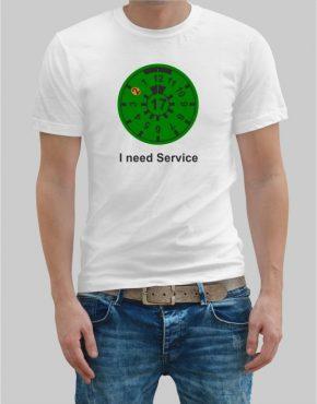 I need Service t-shirt