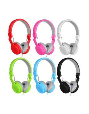 6 Colours TV05 Stereo Headphone