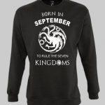 Born in September Sweatshirt
