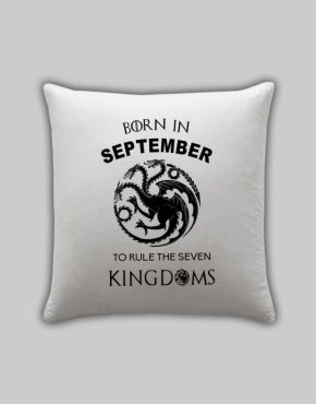 Born in September Pillow