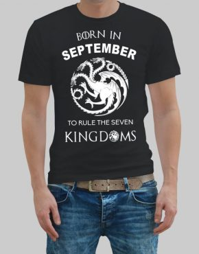 Born in September T-shirt