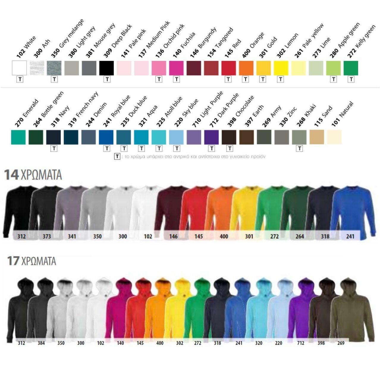 colors aa4