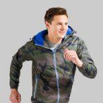 KS Unisex lined windbreaker jacket