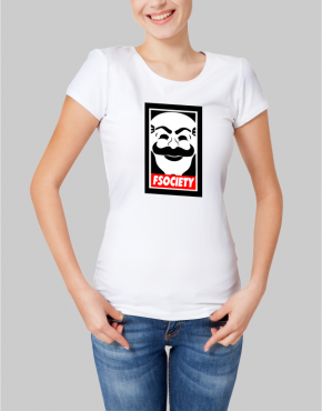 mr robot w t-shirt
