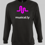 musically sweatshirt