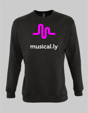 musically sweatshirt
