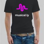 musically t-shirt
