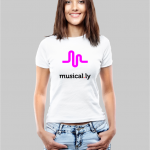 musically w t-shirt