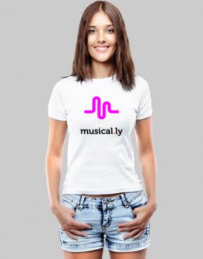 musically w t-shirt