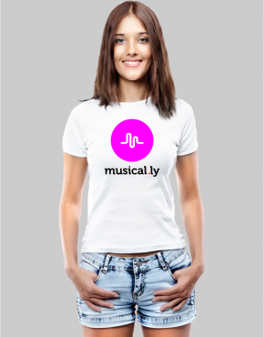 musical.ly W t-shirt
