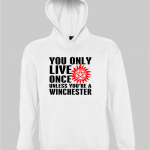 Yolo Winchester hoodie