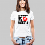 Yolo Winchester w T-shirt