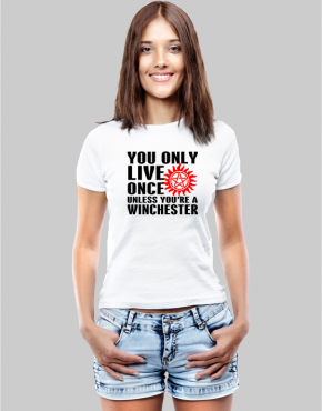 Yolo Winchester w T-shirt