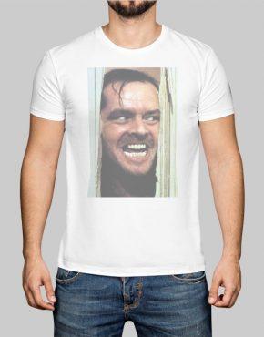 Jack Nicholson face t-shirt