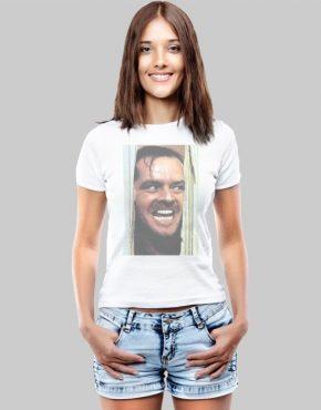 Jack Nicholson W face t-shirt