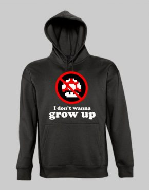 I Dont Wanna Grow Up Hoodie