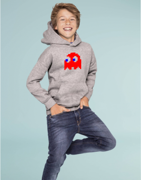 Pac man ghost kid hoodie