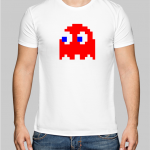 Pac man ghost T-shirt