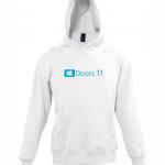 Doors 11 kid hoodie