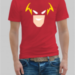 The Flash face t-shirt