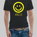 Hello man t-shirt