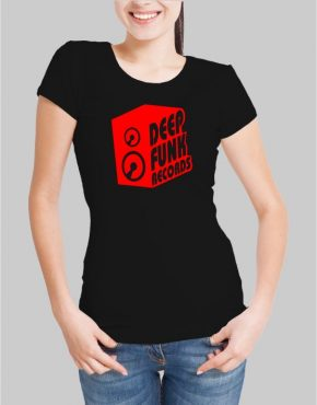 Deep funk records w t-shirt