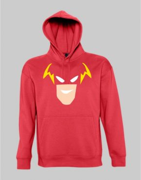 The flash face hoodie