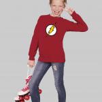The Flash Logo kids sweatshirt