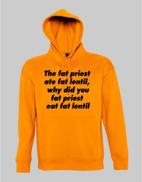 The fat priest hoodie