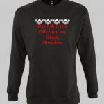 Grandma greek semedaki Sweatshirt