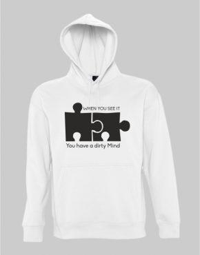 Dirty mind hoodie