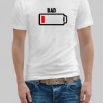 Battery dad t-shirt