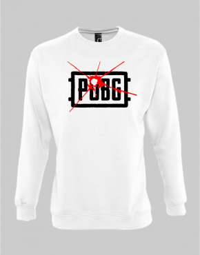 PUBG logo sweatshirt