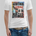 Another brick in the wall t-shirt