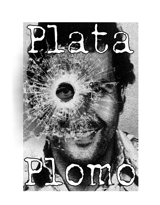 Plata o plomo Pablo Escobar t-shirt