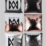 Marcus & Martinus Sequin Pillow