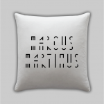 Marcus & Martinus pillow new