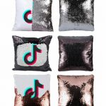 Tik Tok Sequin Pillow