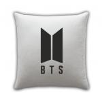 BTS pillow white