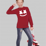 Marshmello dj KIDS SWEATSHIRT