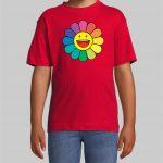 J balvin Flower kids t-shirt