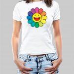 J balvin Flower w t-shirt