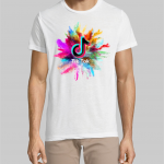 TIK TOK T-shirt splash